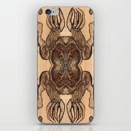 Wood Monster  iPhone Skin