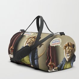 Hungry Lion Duffle Bag
