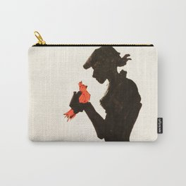 Bird in Hand Carry-All Pouch