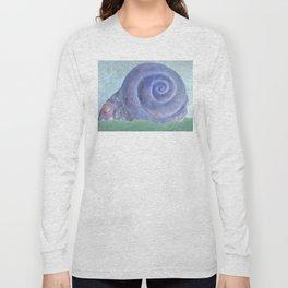 Moon Snail Aglow Long Sleeve T-shirt