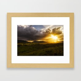 Four Seasons in Ireland Framed Art Print