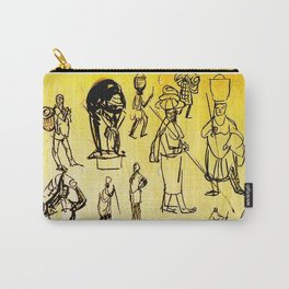 Rubaya, Uganda, East Africa                      by Kay Lipton Carry-All Pouch