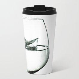 sea in the glass Metal Travel Mug