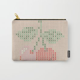 Cherry cross stitch Carry-All Pouch