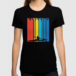 Vintage 1970's Style Kayaking Graphic T-shirt