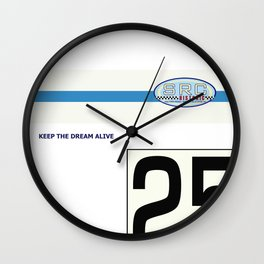 SRC Preparations No.25 Carter Wall Clock
