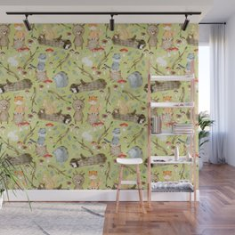 Woodland Animals In Forest Wall Mural