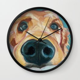 Puppy Nose Wall Clock