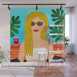 Summer Gyal Wall Mural
