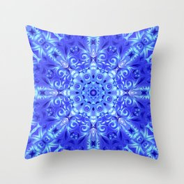 kaleidoscope Star G64 Throw Pillow