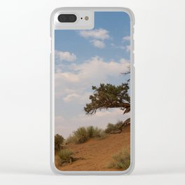 Monument Tree Clear iPhone Case