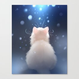Winter is... Canvas Print