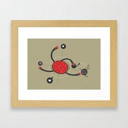 macro work Framed Art Print