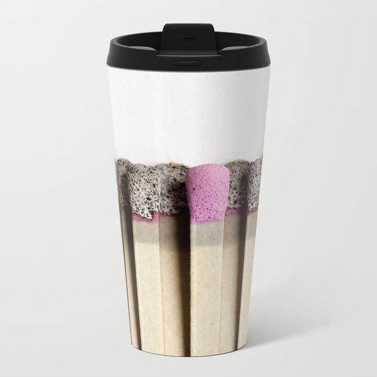 Odd match out Metal Travel Mug