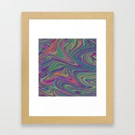 Liquid Framed Art Print