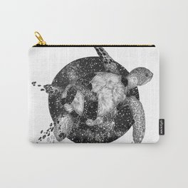 Cosmic Turtle Carry-All Pouch