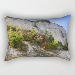 Chalk mountain Rectangular Pillow