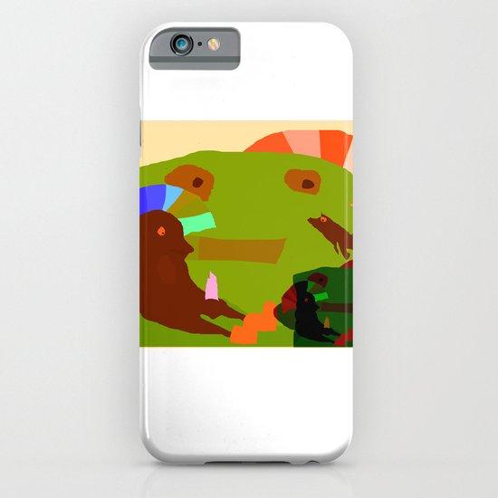 CHILDISH MOMENT iPhone & iPod Case