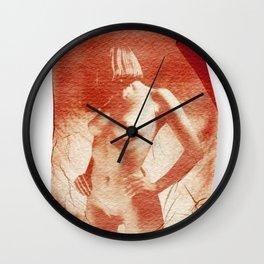 Pola nude Wall Clock