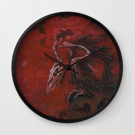 A Murder of Bones Wall Clock