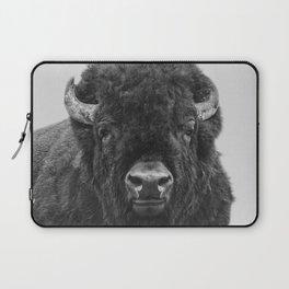 Buffalo Print, Bison Wall Art, Photography Print Laptop Sleeve