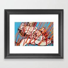 MONOPOLY MAN4 Framed Art Print