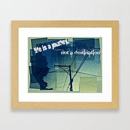 Journey of Life Framed Art Print