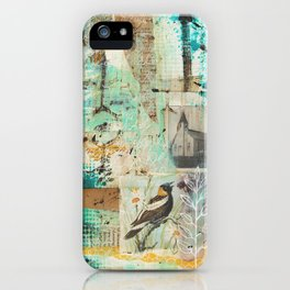 Kirkebird iPhone Case
