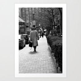 Scenic Commute Art Print