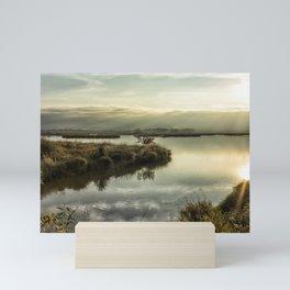 Rays Over Fern Ridge Mini Art Print