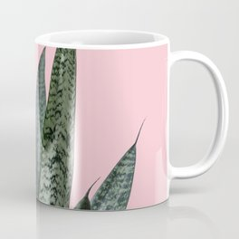 Snake plant in pink Coffee Mug
