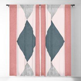 Rhombus design Blackout Curtain