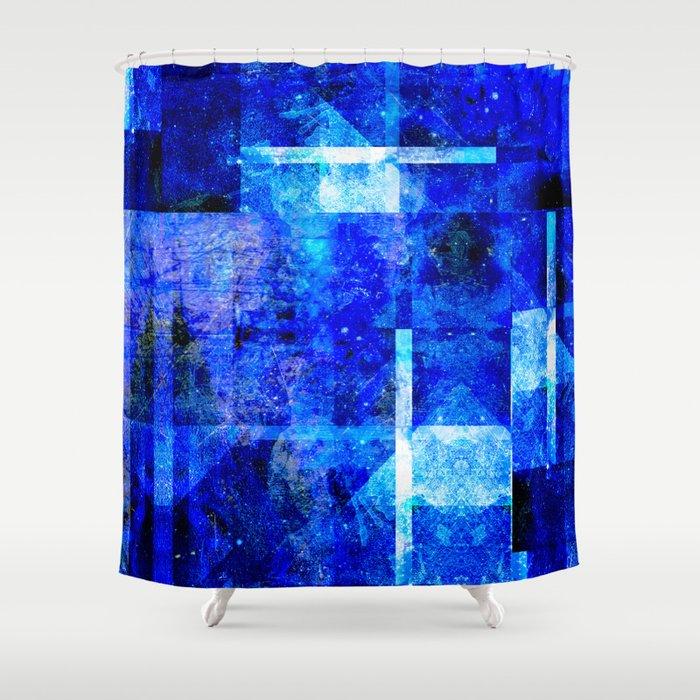 Sapphire Nebulæ Shower Curtain