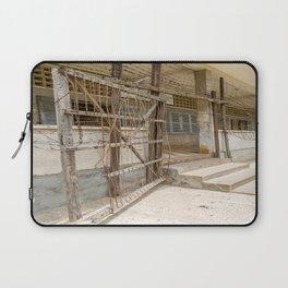 S21 Building C Razor Wire Entrance - Khmer Rouge, Cambodia Laptop Sleeve