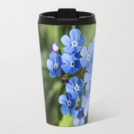 Forget Me Not Photography Print Travel Mug