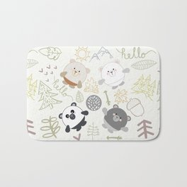 Woodland Bath Mat