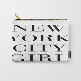 NYC Girl Carry-All Pouch