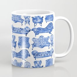 Victorian Lounge – Navy Palette Coffee Mug