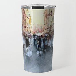 PARIS Street - Painting Travel Mug