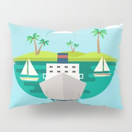 Shipping in The World Pillow Sham