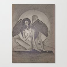 Love`s  Wings Canvas Print