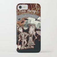 rock n roll iPhone & iPod Cases featuring Rock 'N' Roll Circus by Melissa Morrison