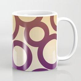 design elements Dots blue, gold Coffee Mug