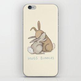 Hugs Bunnies iPhone Skin