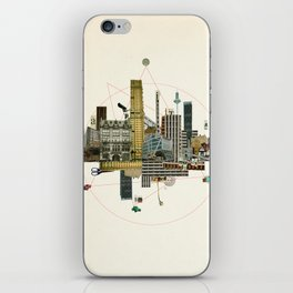 Collage City Mix 8 iPhone Skin