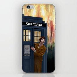 10th Doctor Shockface iPhone Skin