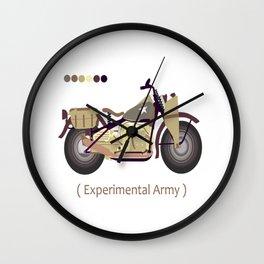 oldskull motorcycle Wall Clock