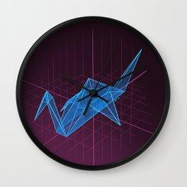 Digital Wishes Wall Clock