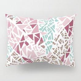 Happy lightful color Mosaic Pillow Sham