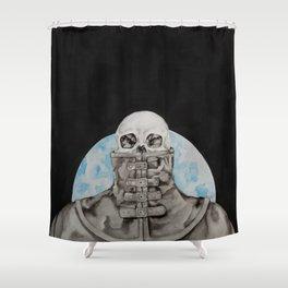 Cloak of Night Shower Curtain